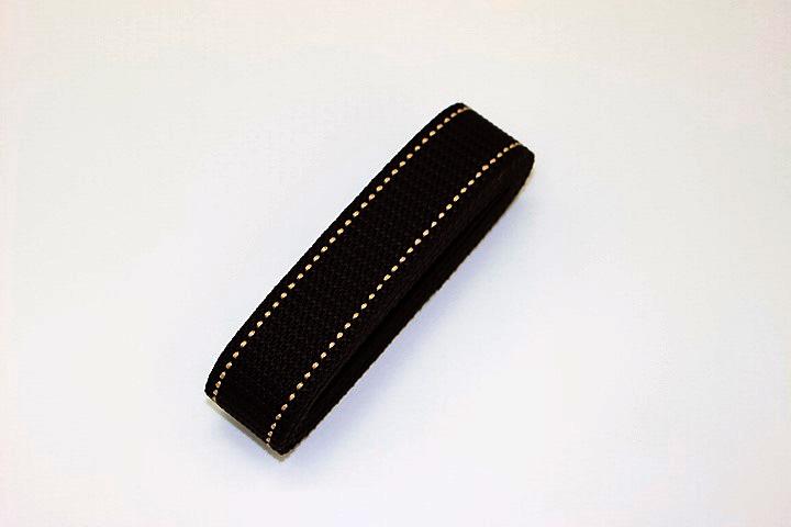 カラーテープ30mm(茶ステッチ)