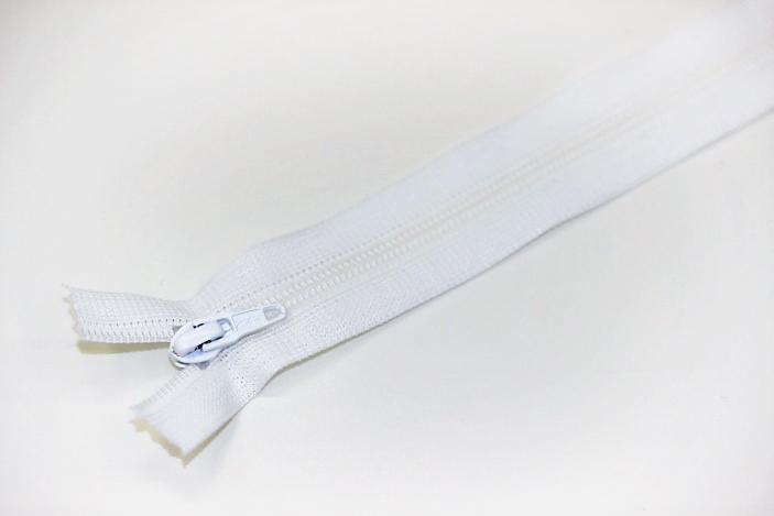 フラットニットファスナー35501(白)
