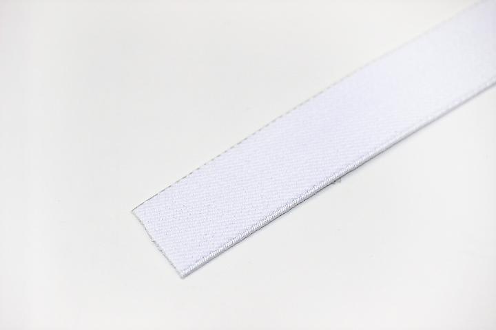 カラーゴム(25mm幅)×1m(白)
