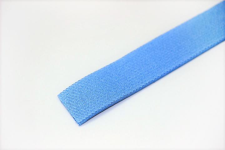 カラーゴム(25mm幅)×1m(ブルー)