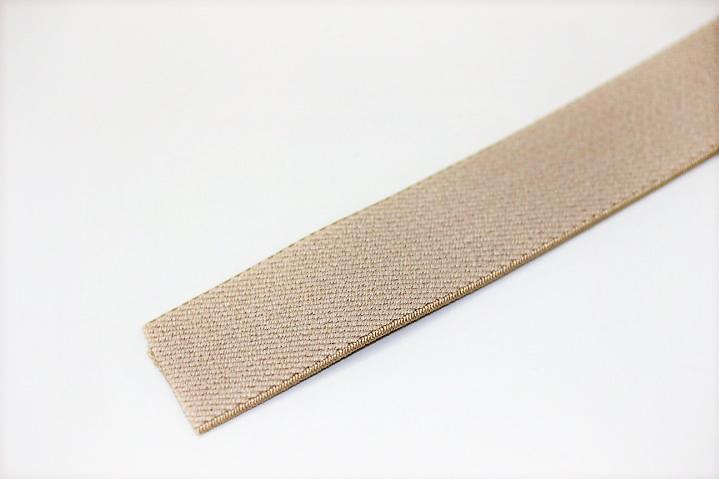 カラーゴム(25mm幅)×1m(ベージュ)