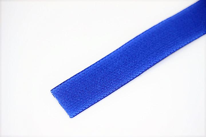 カラーゴム(25mm幅)×1m(赤紺)