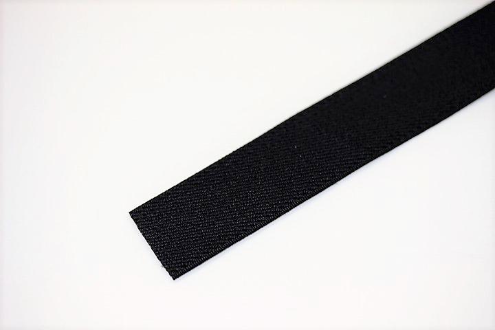 カラーゴム(25mm幅)×1m(黒)