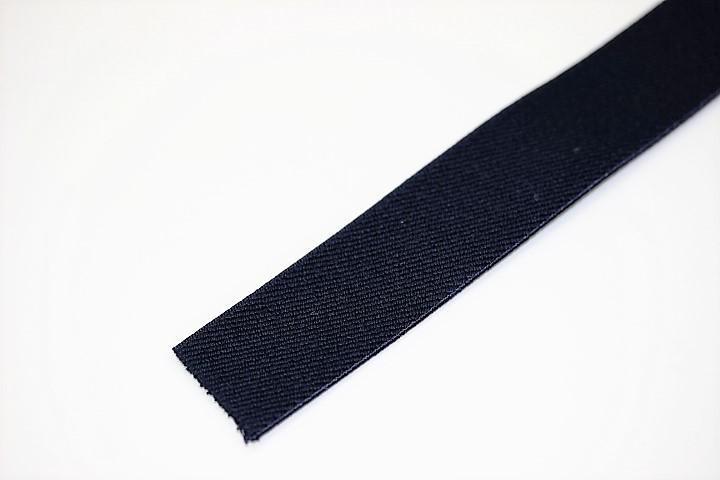 カラーゴム(25mm幅)×1m(紺)