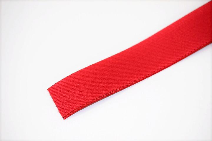 カラーゴム(25mm幅)×1m(赤)