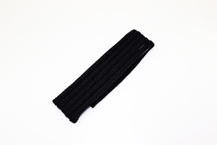ナップサック用肩ひも 2m(2組セット)(黒)