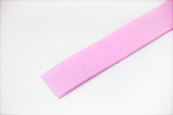 カラーゴム(25mm幅)×1m(ピンク)